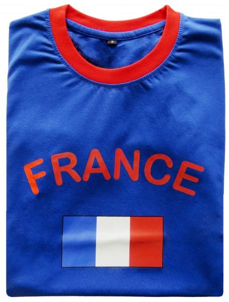 """Fan-Shirt """"France"""" Unisex Football Worldcup T-Shirt Men"""