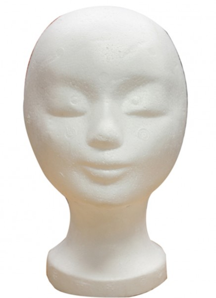 Display Hat Classic Woman Styrofoam Face Cap Holder