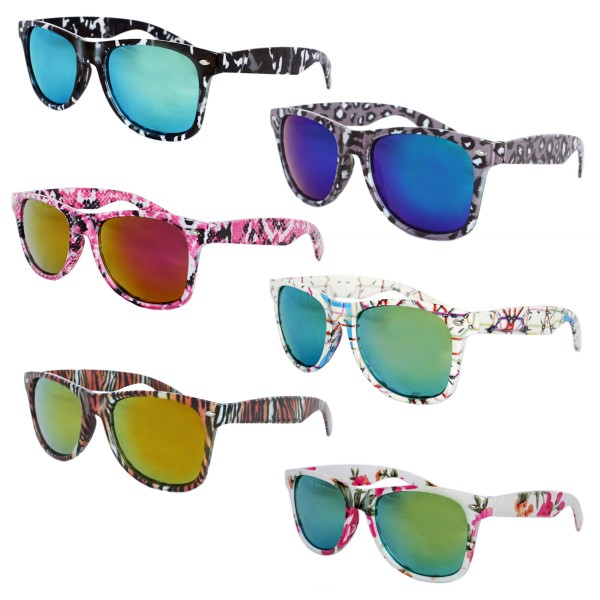 Sale: 12 Sun Glasses Pattern Animal Party Fun