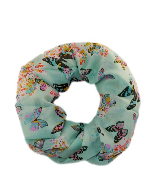 """Scarf Loop """"Butterfly"""" Round Shawl Summer"""