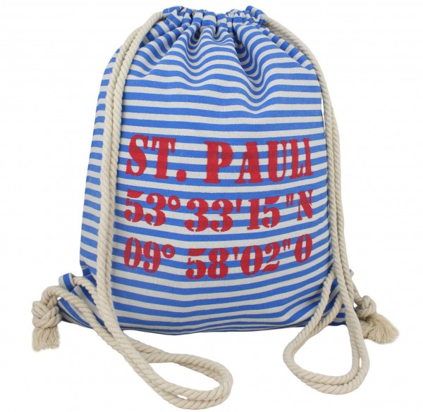 "City Rucksack ""St.Pauli"" Tasche Bag Backpack Maritim"