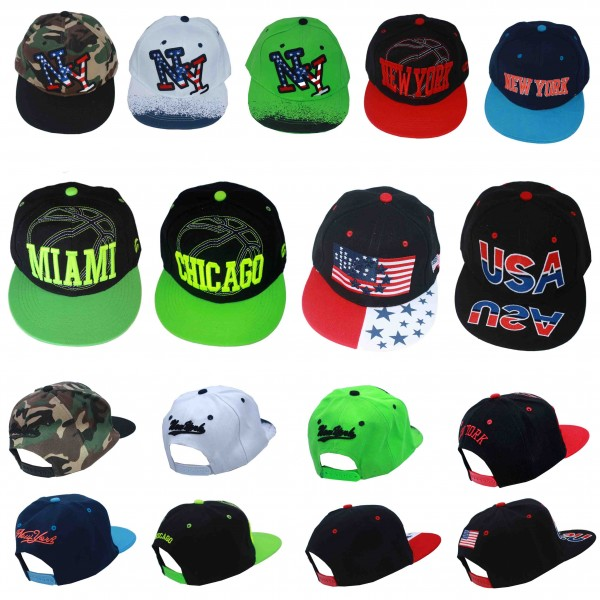 "Sale: 50 Baseball Caps ""American"" Cities"