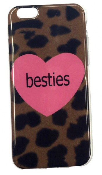 Mobile Cover Best Friends Leo Zebra Case