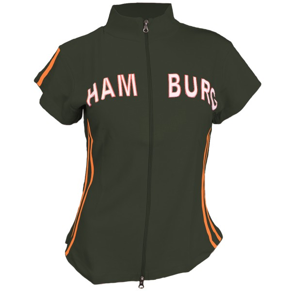 "Zip Top ""Hamburg Girls"" Shirt Baumwolle"