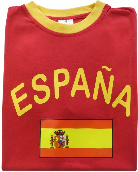 "Fan-Shirt ""España"" Unisex Football Worldcup T-Shirt Men"