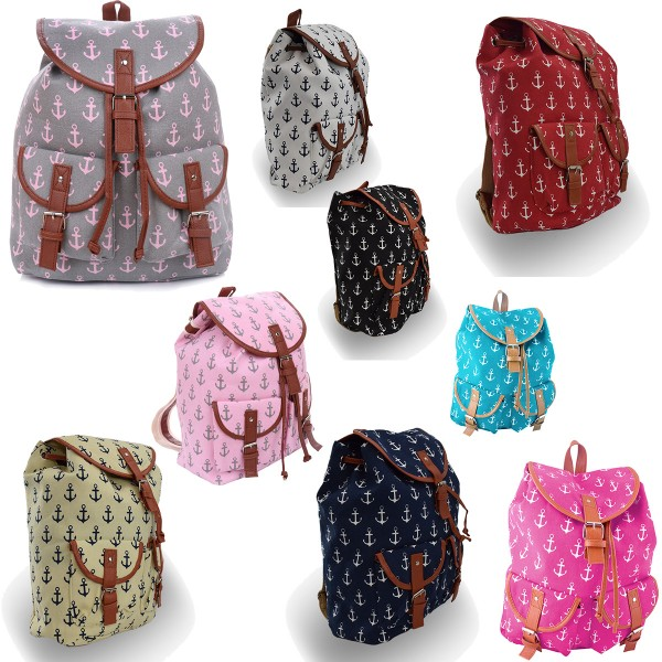 "Sale: 20 Backpacks Anchor ""Lilly and Stripes"" Maritime"