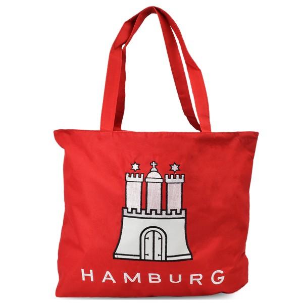 "Assortment: 10 pieces Shopper ""HAMBURG"" Shopping Bag"