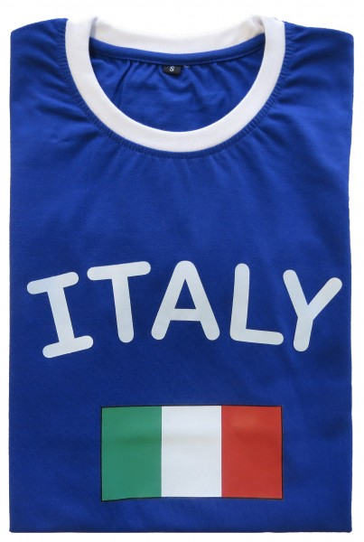 "Fan-Shirt ""Italy"" Unisex Football Worldcup T-Shirt Men"