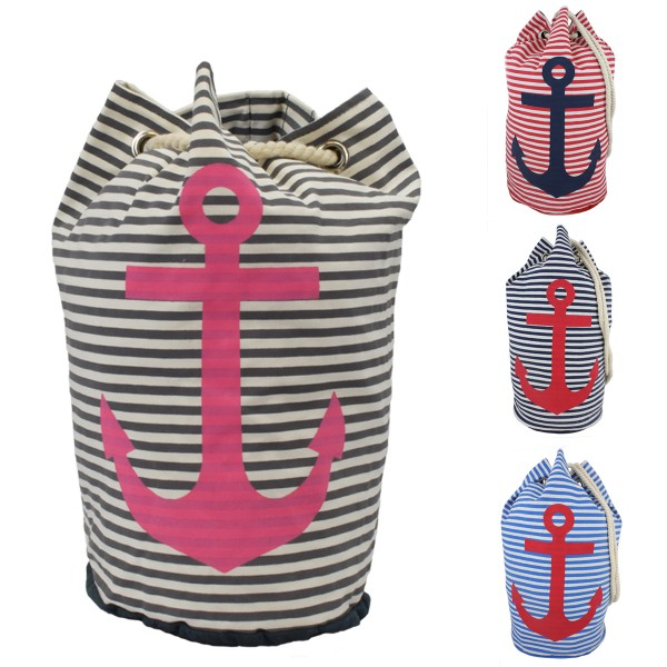 "Assortment: 20 pieces Sea Bag Anchor ""Tom"" Bag Backpack"