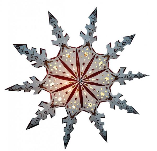 Weihnachtsstern 80cm Papier-Stern Weihnachtsdeko