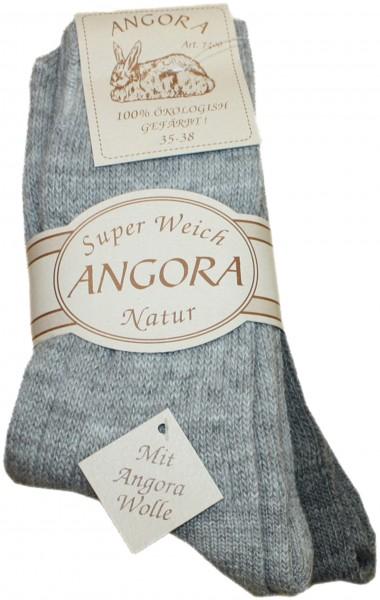 2 Pairs Angora Socks Ecological Wool Warm
