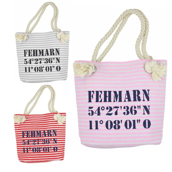 "Aktionssortiment: 20 XS Shopper ""Fehmarn"" Tasche"