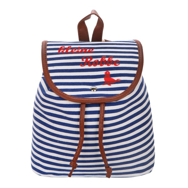 "XS Backpack ""Little Seal"" Stripes Maritim Daypack"