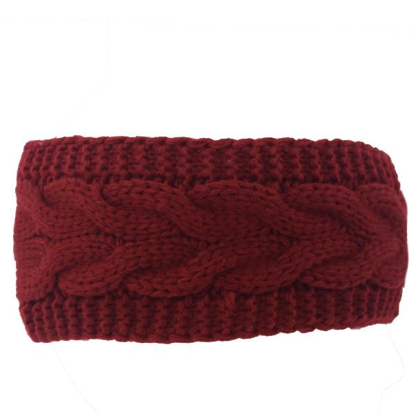 Headband Unisex Winter Knit Women