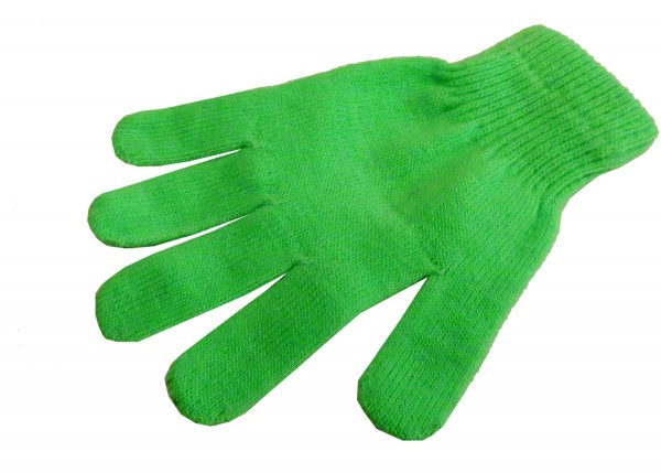 Strickhandschuhe Fingerhandschuhe Uni Neon knallig Unisex