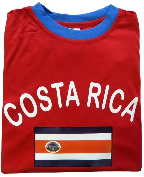 """Fan-Shirt """"Costa Rica"""" Unisex Football Worldcup T-Shirt Men"""