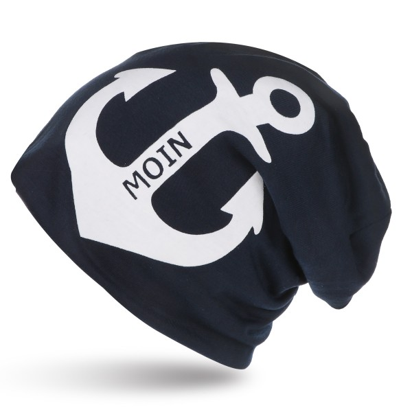 "City-Beanie ""Moin"" Anchor Cap Maritime"