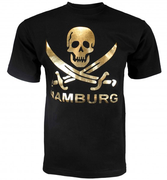 "Kids T-Shirt ""Hamburg Skull"" Pirate Cotton"