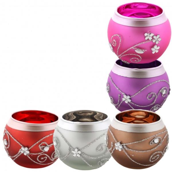"""Assortment: 20 Pieces Tea Candle """"Rundblick"""" Decoration Present"""