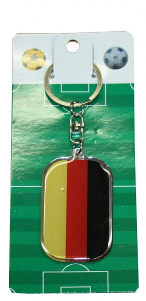 "Key Ring ""Oval"" Germany Hamburg Fan Worldcup Soccer"