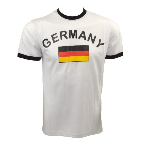 "Fan-Shirt ""Germany"" Unisex Fußball WM EM Herren T-Shirt"