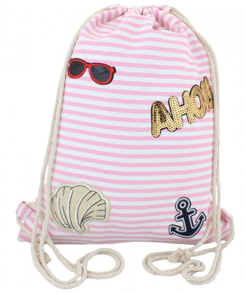 """Sale: 10 Patch Backpacks """"Ahoi"""""""
