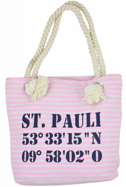 "XS Shopper ""St.Pauli"" Shopper Tasche Koordinaten"