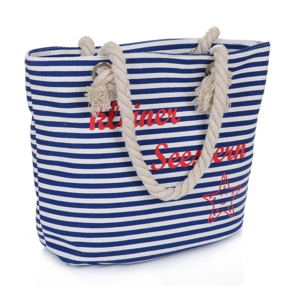 "XS Shopper ""Little Sea Star"" Bag Maritime Stripes"