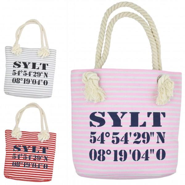 "Aktionssortiment: 20 XS Shopper ""Sylt"" Tasche"