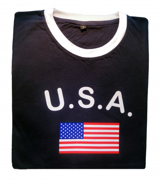 "Fan-Shirt ""USA"" Unisex Football Worldcup T-Shirt Men"