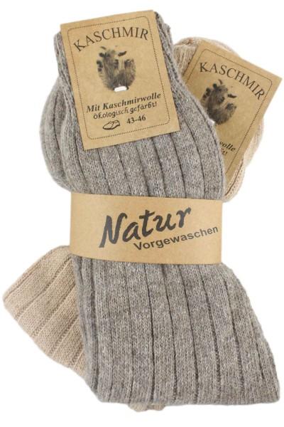 "2 Pairs Cashmere Socks ""Thin"" Wool Unisex Warm"