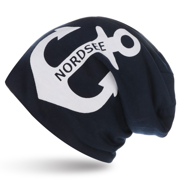 "City-Beanie ""North Sea"" Anchor Cap Maritime"