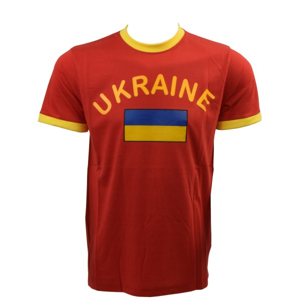 "Fan-Shirt ""Ukraine"" Unisex Football Worldcup T-Shirt Men"