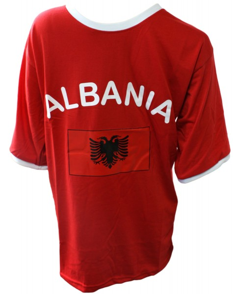 "Fan-Shirt ""Albania"" Unisex Football Worldcup T-Shirt Men"