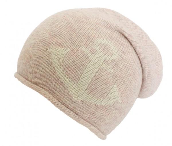 """Knit Beanie """"Anchor"""" Knitbeanie Wool Maritime Premium"""