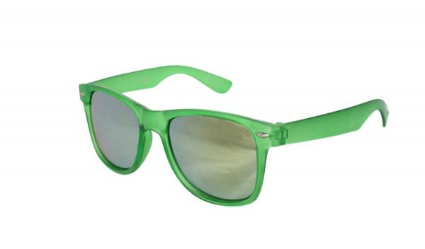 Sonnenbrille Fasching Verspiegelt Party Transparent