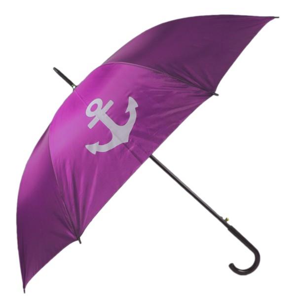 "Stockschirm ""Anker"" Regenschirm Schutz Maritim Strand"