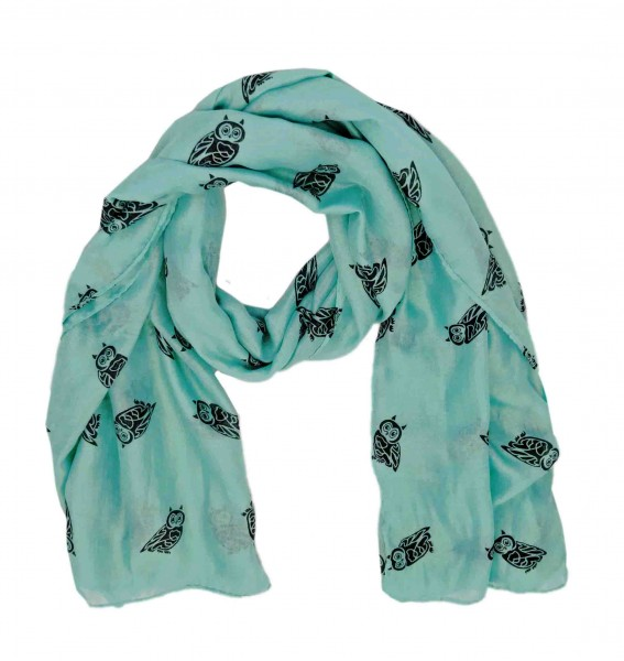 """Scarf Long """"Owl Small"""" Summer"""