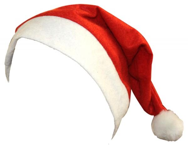 "5er SET Weihnachtsmütze ""Classic"" Santa Kostüm"