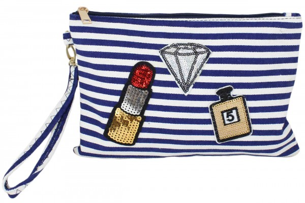 "Clutch ""Diamond"" Clutch Beautybag"