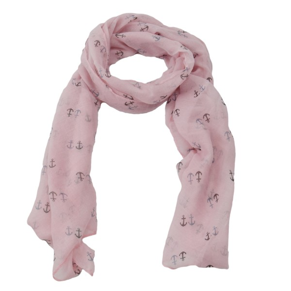 "Scarf Long ""Twin Anchor"" Summer"