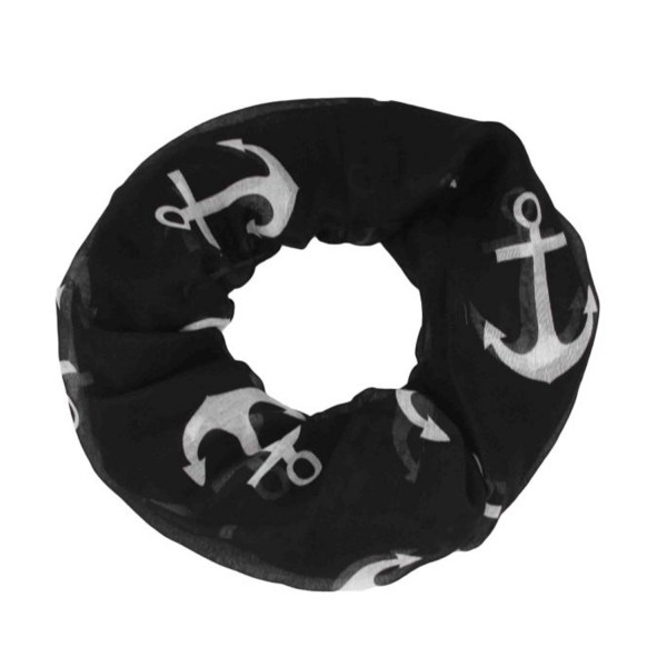 "Scarf Loop ""Big Anchors"" Round Shawl Summer"