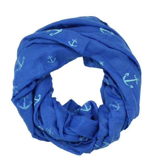 "Scarf Loop ""Anchor"" High Print Summer"