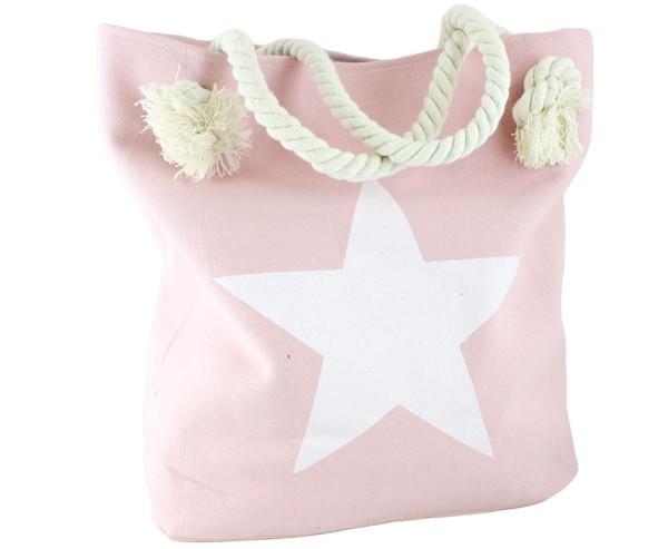 "Strandtasche Stern Uni ""Marie"" Beachbag Shopper"