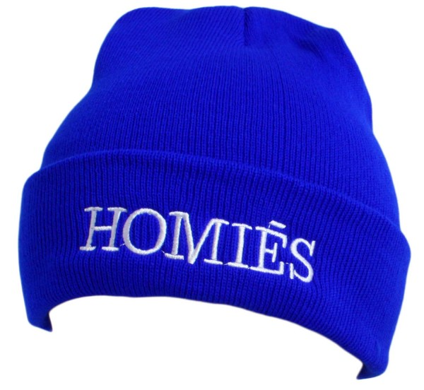 "Statement hat ""Homies"" Beanie Knit Uni Unisex"