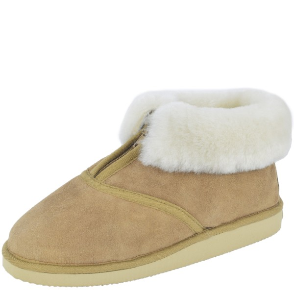 "Indoor Slipper ""Premium"" Sheep Skin Genuine Leather Lamb Fur Soft"