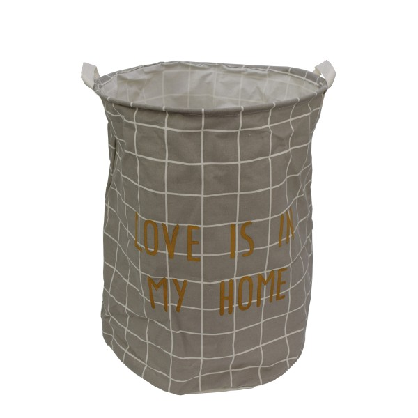 """Laundry Bag """"Home"""" Vintage Heart Wash Clothing Interior"""