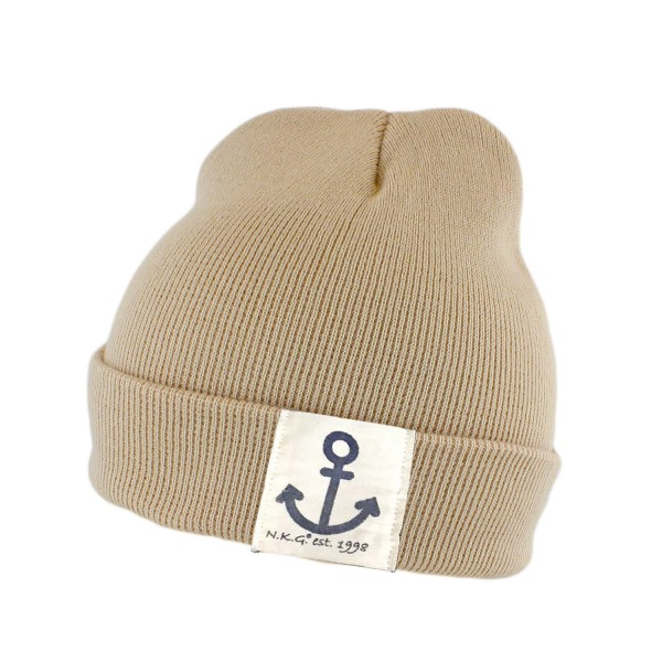 "Knitted Hat ""Anchor Logo"" Beanie Unisex Uni"