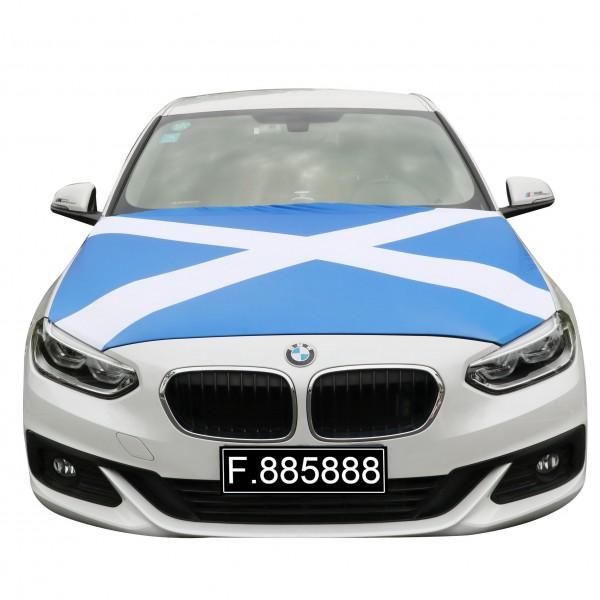 """EM Fußball """"Schottland"""" Motorhauben Überzieher Auto Flagge"""