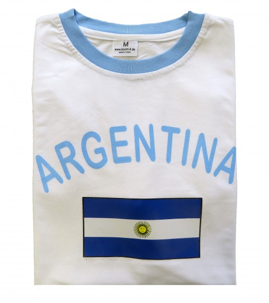"Fan-Shirt ""Argentina"" Unisex Football Worldcup T-Shirt Men"